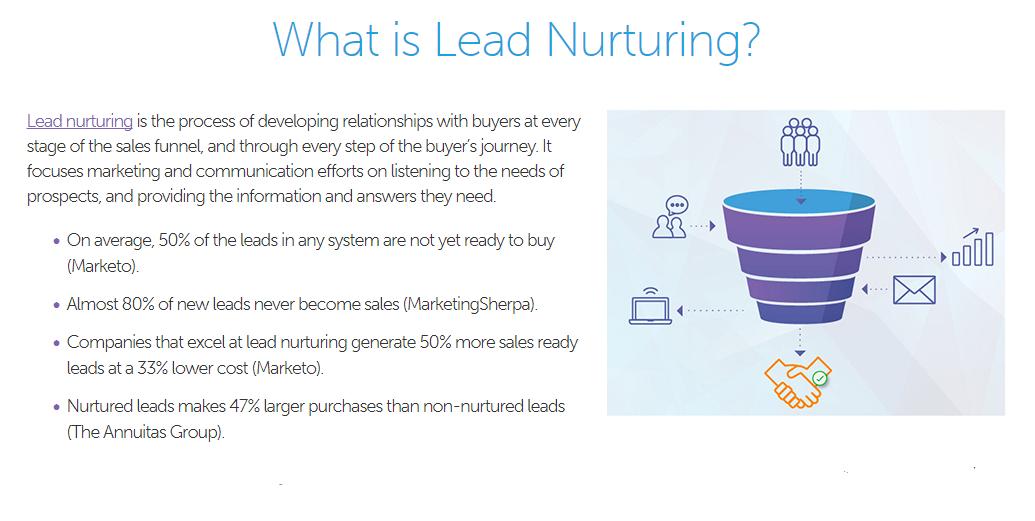 lead nurturing definition